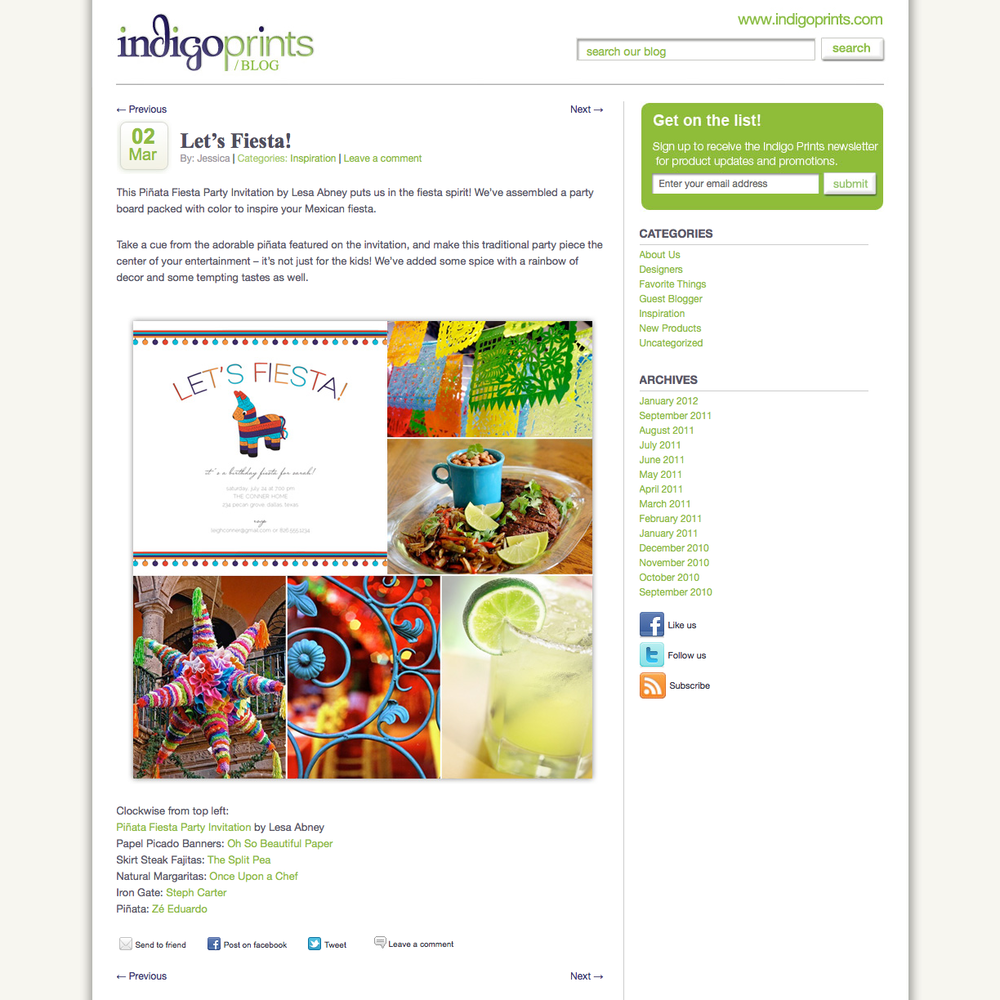 Indigo Prints Blog