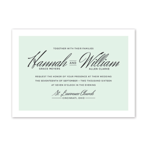 Quill Wedding Invitation by Jamber Creative
