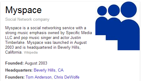 "Hopefully OUR reboot goes better than Justin Timberlake's attempt to reboot MySpace where the pop musician was, for the first time, unable to ""bring sexy back."""