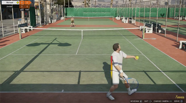 I tried to find an interesting, exciting picture that justified the hype for Grand Theft Auto V and instead all I found were pictures of people playing tennis in the game.  Please tell me this is not what you are all paying $59.99 for.