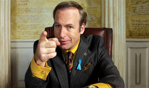 Above: Bob Odenkirk will reprise his role as Saul Goodman in an upcoming Breaking Bad spin-off centered around his character.