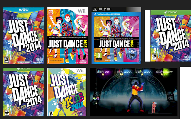 Just Dance 2014… same deal:  it's available on all the older systems.