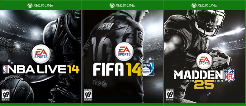 Oh, look at that – all the EA Sports games… which (you guessed it) are available on all the older systems.
