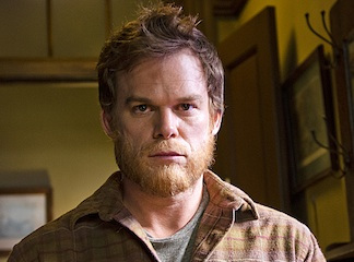 Dexter Morgan begins his new life... as a lawn gnome.