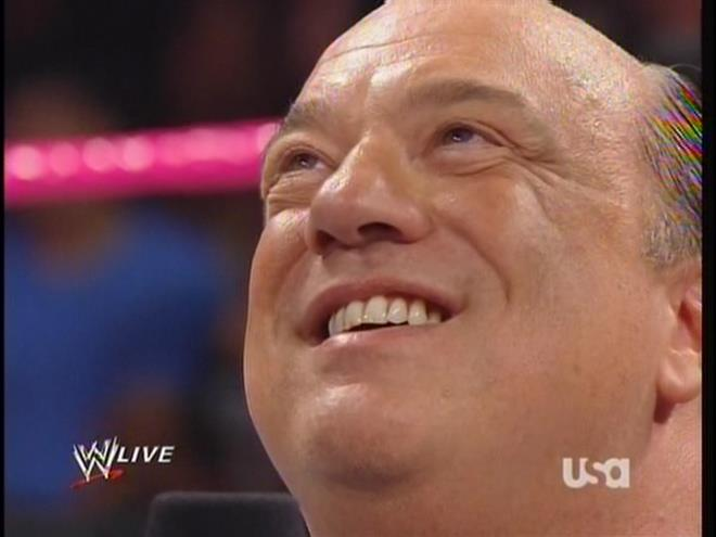 Ryback is about to feed Paul Heyman more... penis.