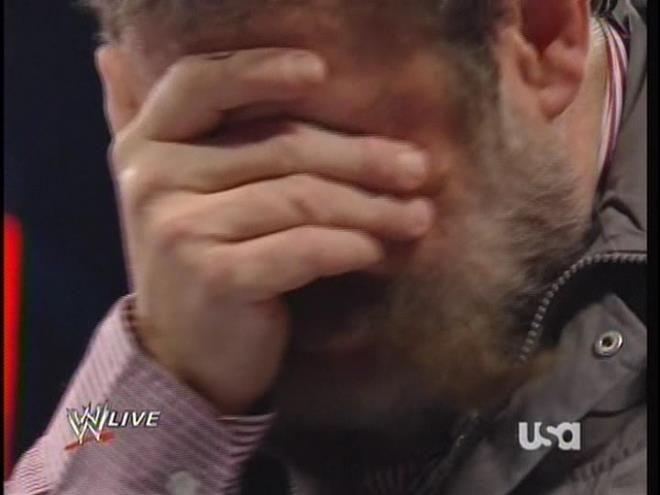 Don't worry, Zeb.  I feel this way watching RAW most of the time, too.