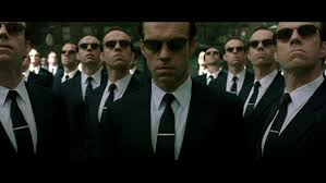 Everyone tries to act and be the same like when everyone in the Matrix movies turns into Agent Smith.