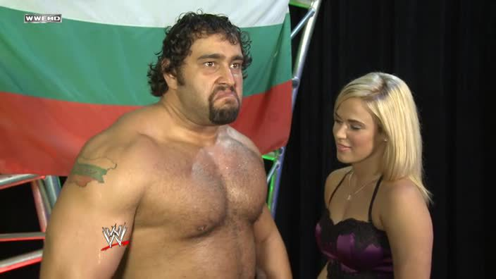Rusev reminds me of my dumps after eating Taco Bell. Both are equally as talented.