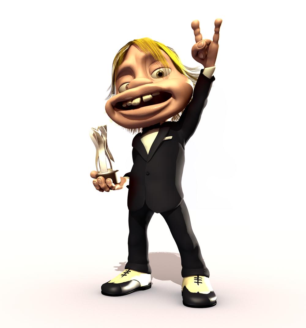 Glenn winning an Asked Award?