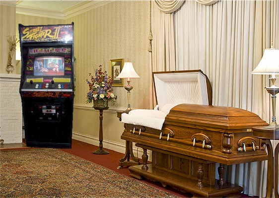 Street Fighter II - putting the FUN back in FUNeral.
