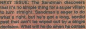 "Wow. I never knew the Sandman was gay and had problems ""turning straight."""