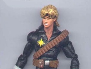 Longshot Real Name: Unknown First Appearance: Longshot #1, (1985) Mutant Powers: Highly agile, extremely lucky. Anorexic. Rod Stewart Haircut