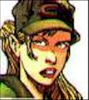 Skids Real Name: Sally Blevins First Appearance: X-Factor #7 (1986) Mutant Power: Can generate force fields