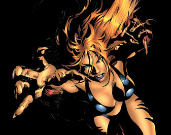 Tigra Powers: Basically a mutated she-cat with some limited mystical abilities.