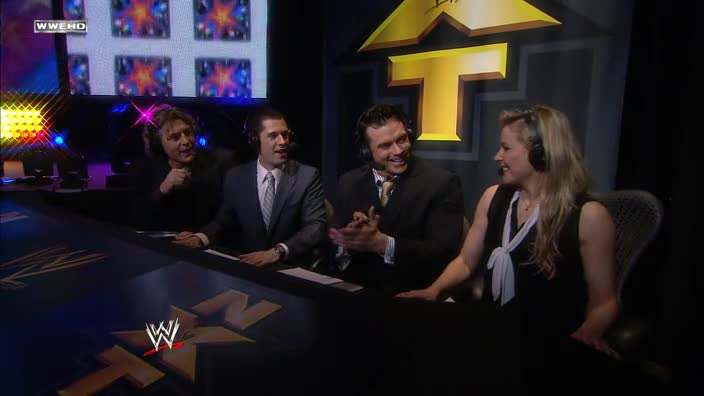 The NXT Brazzers Slam of the Week... in Renee Young's mossy bank.