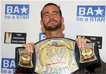 """Behold CM Punk, the former WWE champion who frequently insults fans on Twitter, makes fun of his coworkers, and is, by modern definition, a """"bully""""."""