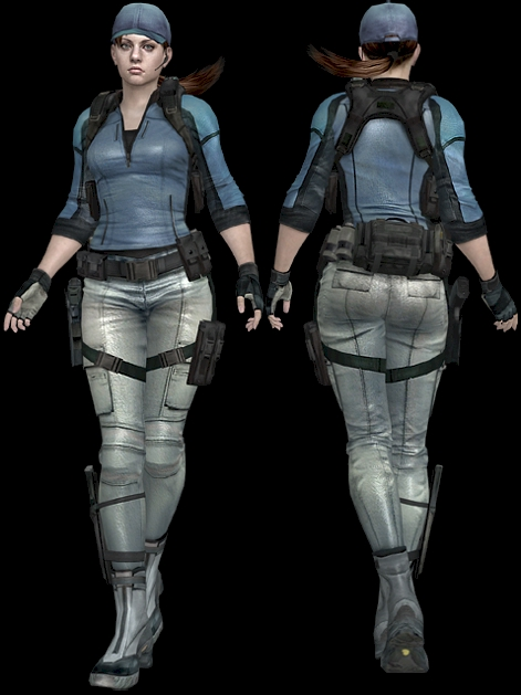 ...and what an ass it is. Jill Valentine represents my favorite thing on the planet: white girls with big asses.