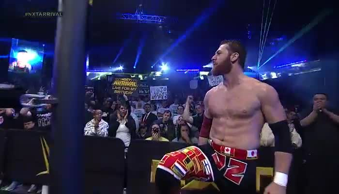 Seth Rogen's stunt double, Sami Zayn is here for action!