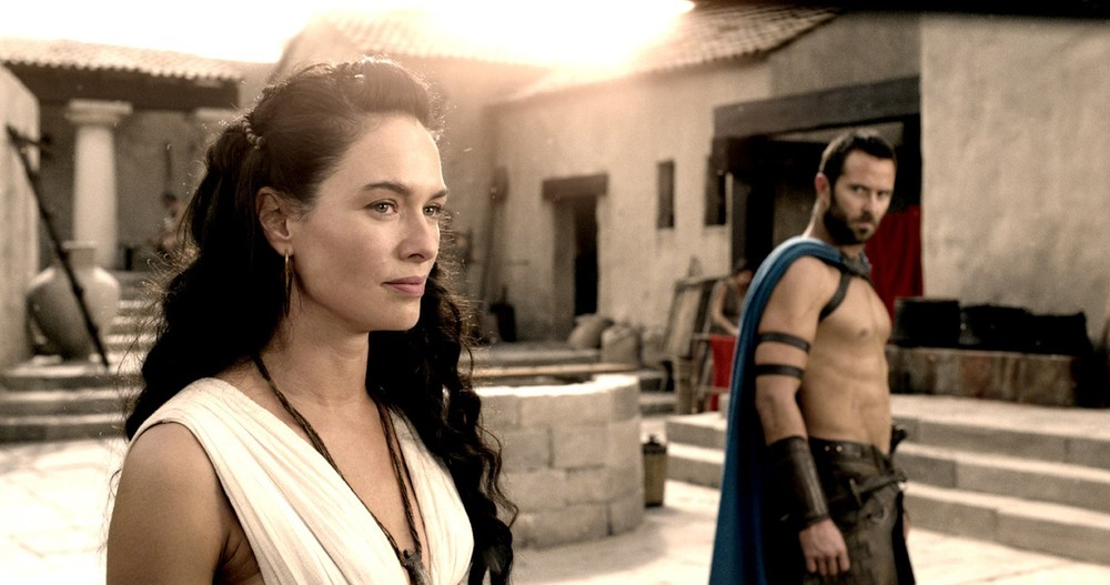 Lena Headey as Queen Gorgo - at least in this film she's not playing a character that bangs her own brother.