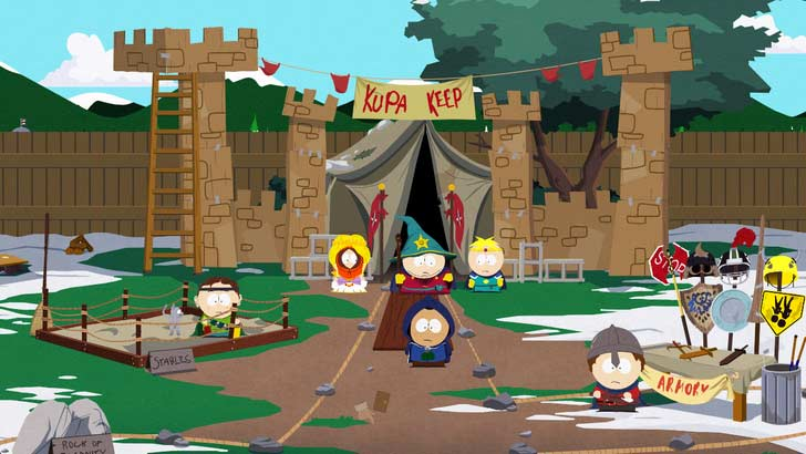 The Kingdom of Kupa Keep (KKK) run by Cartman is your first stop upon this journey.