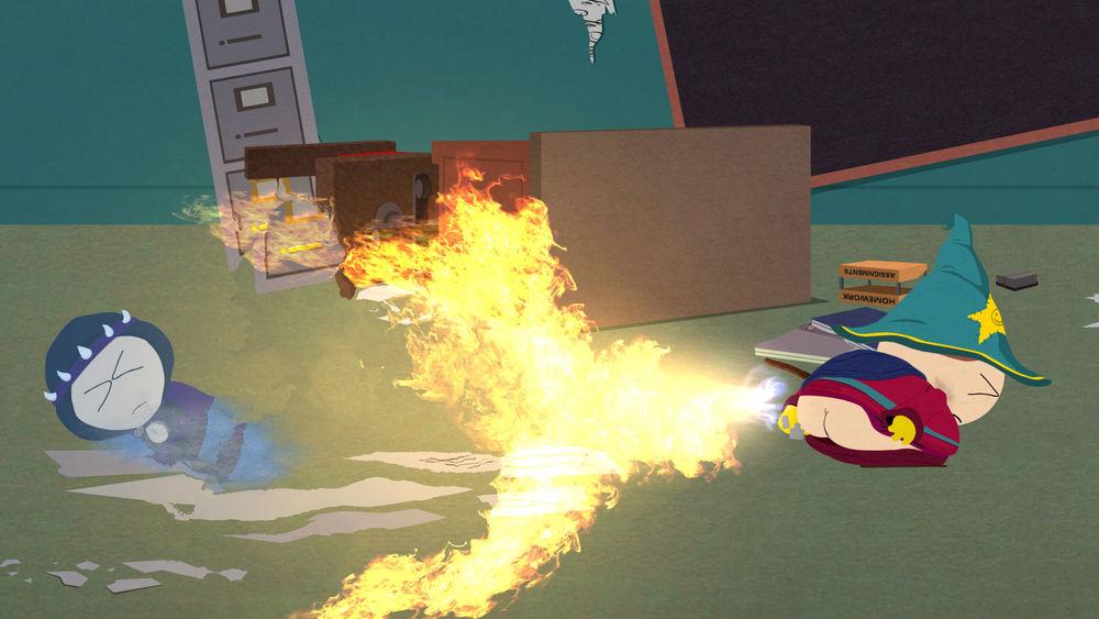 Cartman keeping it classy as always.