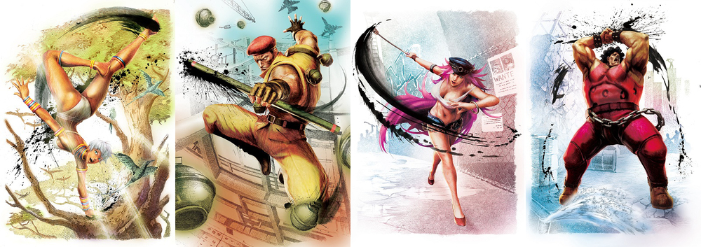 Street Fighter III's Elena, and Final Fight's Rolento, Poison, and Andore (Hugo) will round out the Street Fighter cast in Ultra Street Fighter IV.
