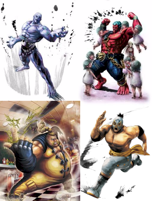 No wonder Capcom is hesitant to design NEW characters. They usually come out retarded.
