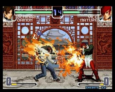 """SNK """"Playmore's"""" King of Fighters 2000... with the same look the series has had since 1994. If only someone other than Playmore had acquired SNK..."""