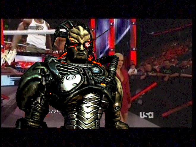 The BORGarian Brute is here to assimilate all life in the WWE.