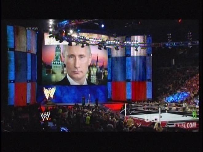Vladimir Putin is watching you masturbate... to Lana's entrance.