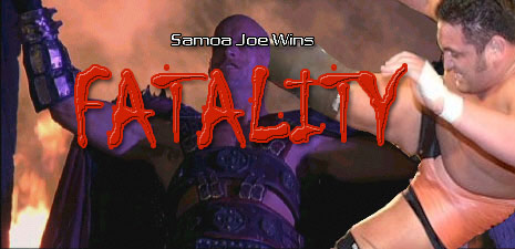 Joe's TNA undefeated streak would later pale in comparison to his MORTAL KOMBAT undefeated streak.