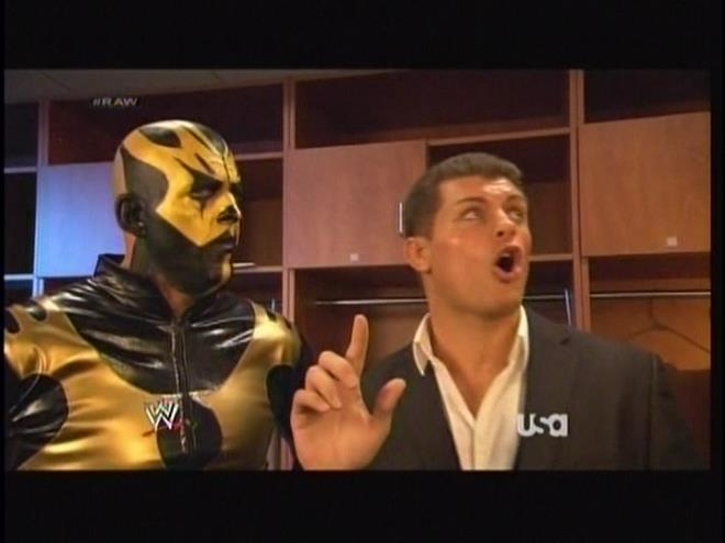 NEXT WEEK ON MONDAY NIGHT RAW, CODY RHODES TEACHES DUSTIN RHODES HOW TO SUCK DICK.