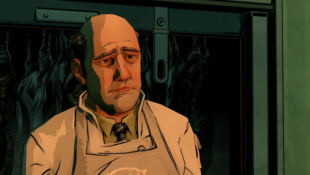 Johan the Butcher isn't exactly an EXCITING new character. Actually he's kind of a bitch.