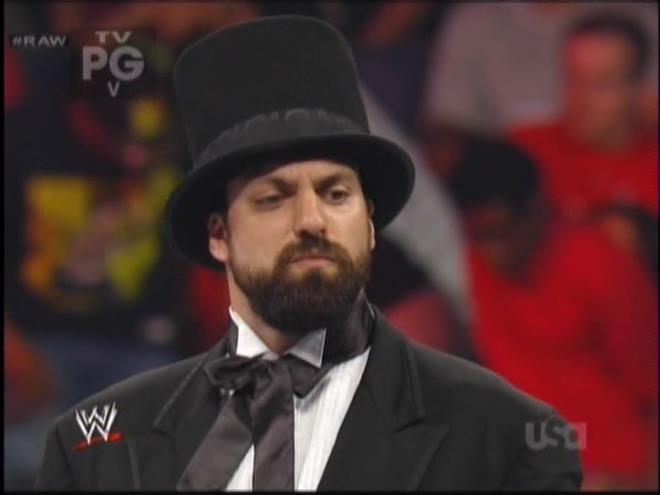 Four score and seven year ago was like the last time Damien Sandow was relevant.