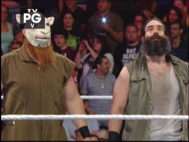 You could dust hard-to-reach places with Luke Harper's beard.