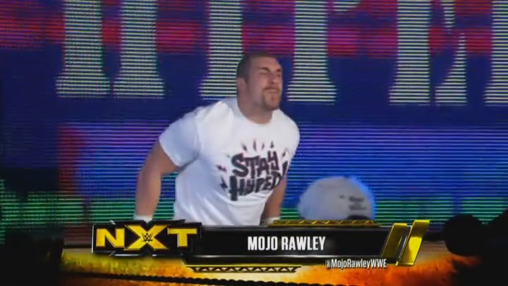 Much like Meth, Mojo Rawley: NOT. EVEN. ONCE.