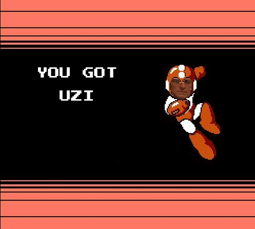 GET EQUIPPED WITH UZI.