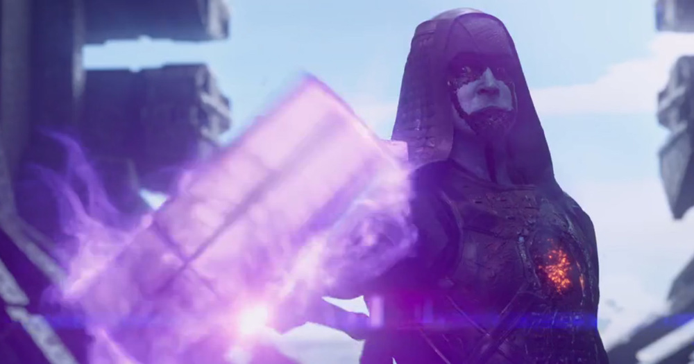 Ronan the Accuser portrayed by Lee Pace