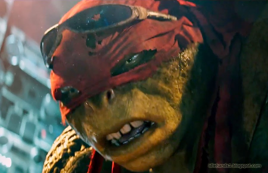 "You know your life is pretty bad when you're ""the ugliest Ninja Turtle."""