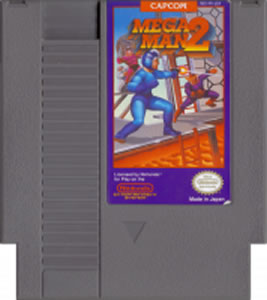 Even that old crappy artwork on Nintendo cartridges just had this feel to it that somehow added to the game instead of took away from it.  Mega Man 2 is a classic, and arguably the best in the series.