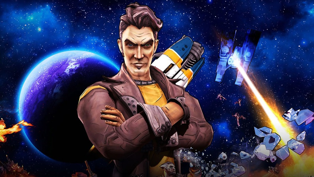 Handsome Jack used to have a face.