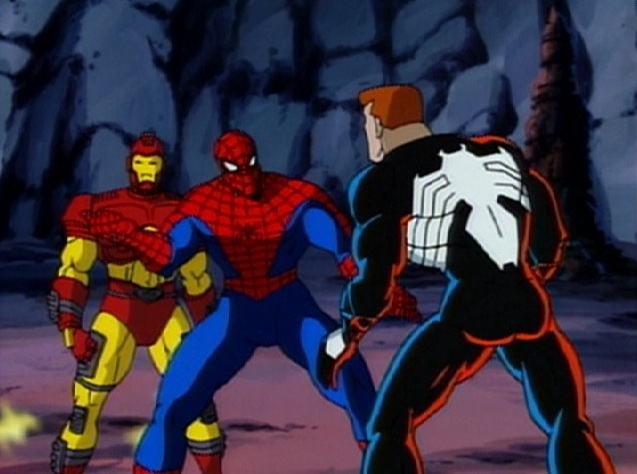 The '90s Spider-Man cartoon not only featured Spider-Man but many of his allies and enemies.