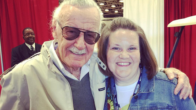 Think Stan Lee hit that? Just askin'.