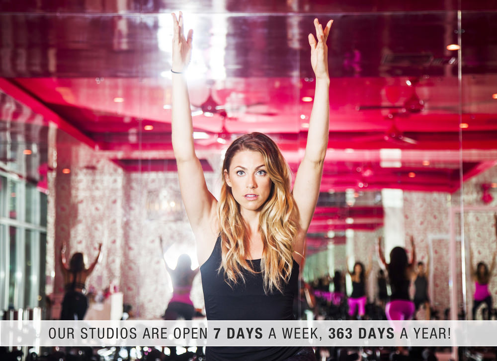 studios are open 7 days a week 363 days a year