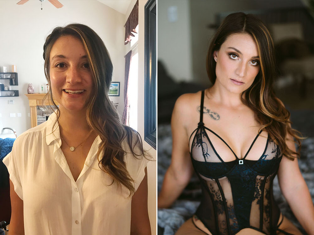 Boudoir Photo Shoot - Before/After