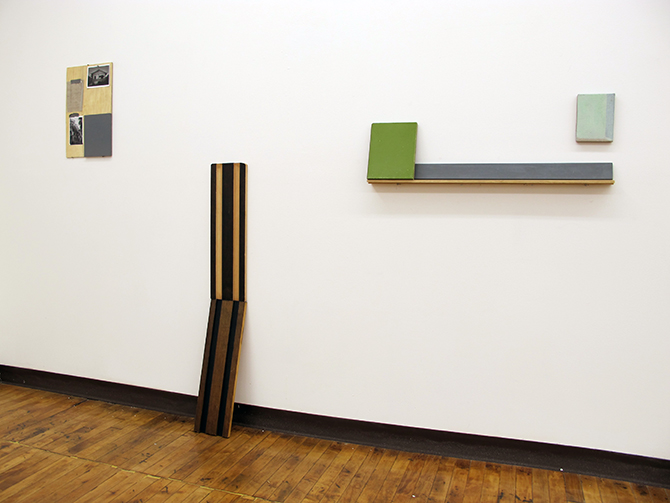 installation shot at Present Company Gallery