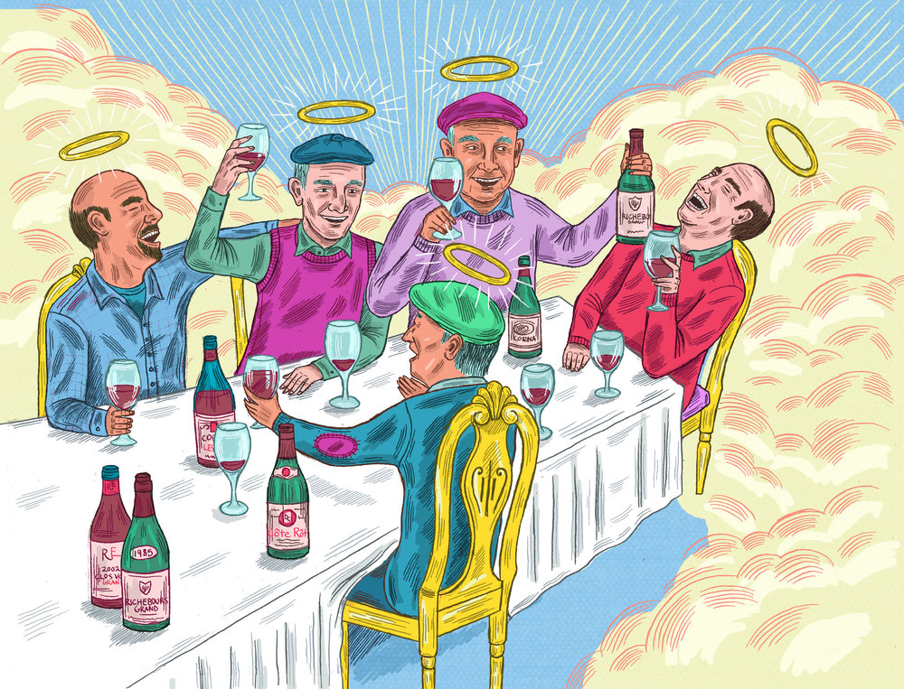 Winemakers in Heaven, Noble Rot Magazine 2016