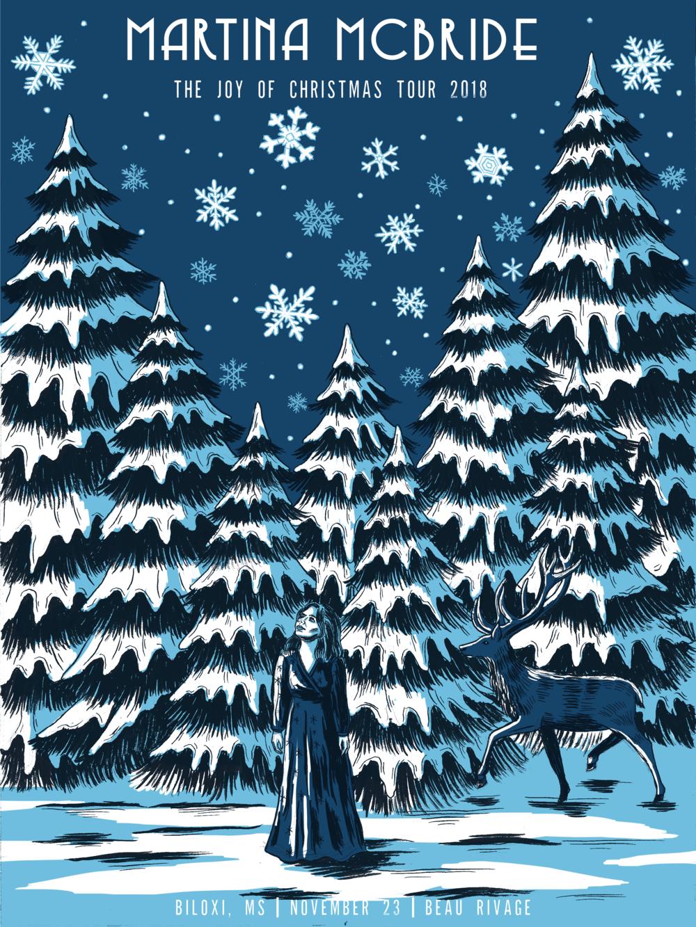 Martina McBride Joy of Christmas Tour, 2018