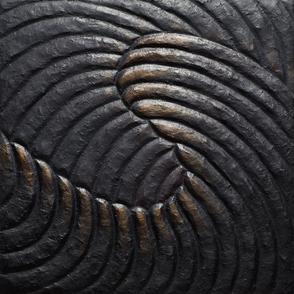 36x36 inches acrylic on wooden panel  Katerina Ganchak