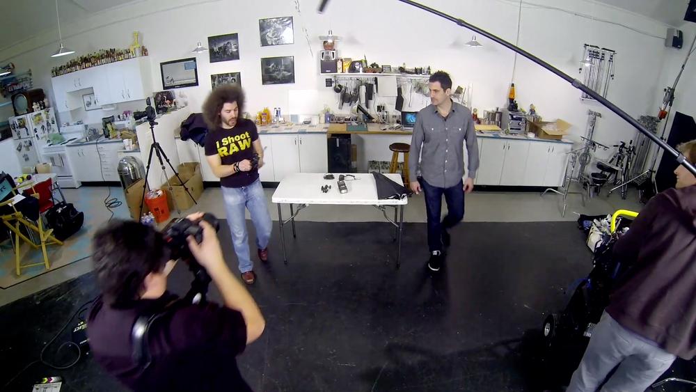 Screenshot of Jared Polin & Adam Lerner in Beginner Flash Guide video tutorial.